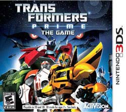 NinDS 3DS - Transformers Prime: The Game
