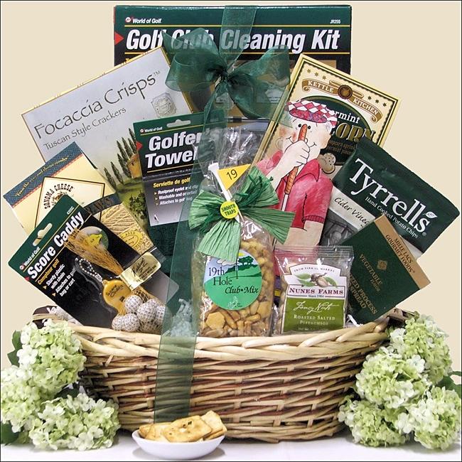 Par For The Course Golf Gift Basket