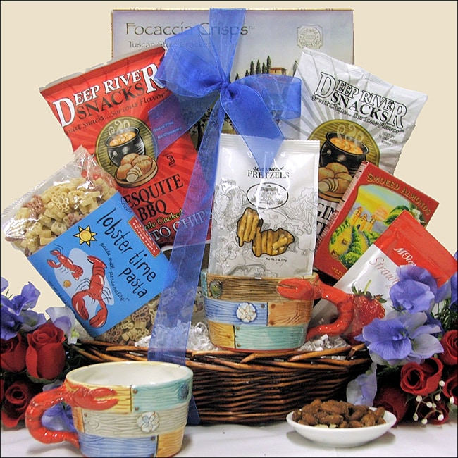 Savory Summer Sweet and Salty Treats Gourmet Gift Basket