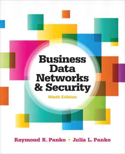 Business Data Networks and Security (Hardcover)