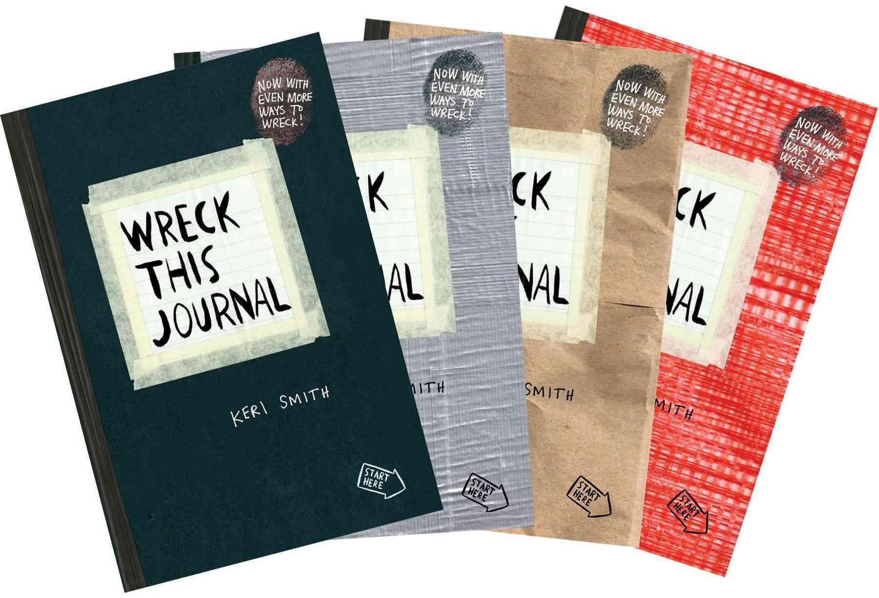 Wreck This Journal (Paperback)