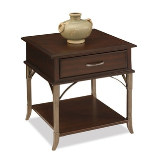 Bordeaux Espresso End Table
