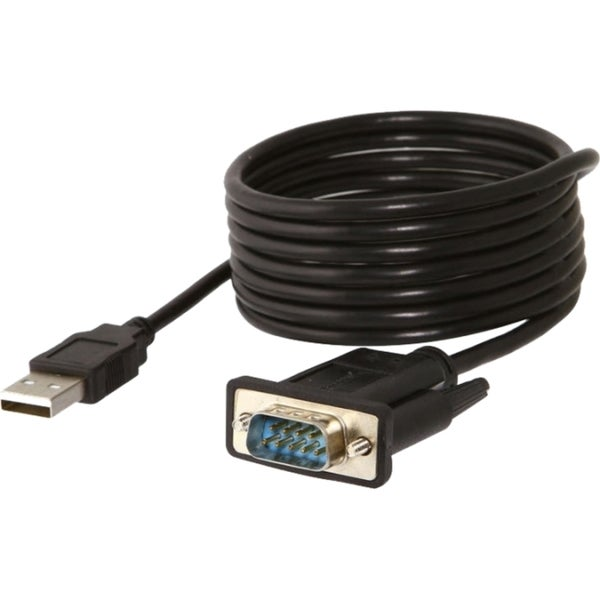 Sabrent USB 2.0 to Serial (9-Pin) DB-9 RS-232 Adapter Cable 6ft Cable