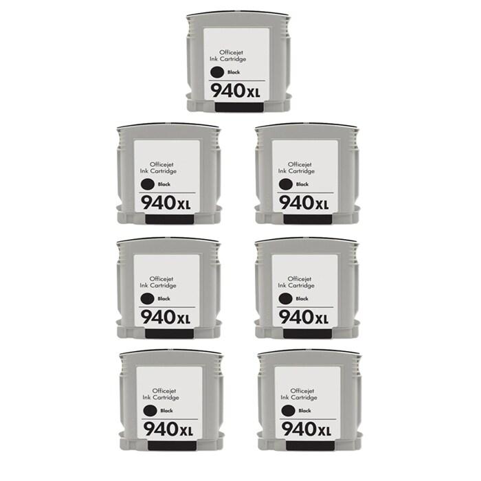 Hewlett Packard 940XL Black Ink Cartridge Pack (Remanufactured)