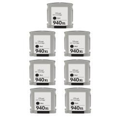 Hewlett Packard 940XL Black Ink Cartridge Pack (Remanufactured)