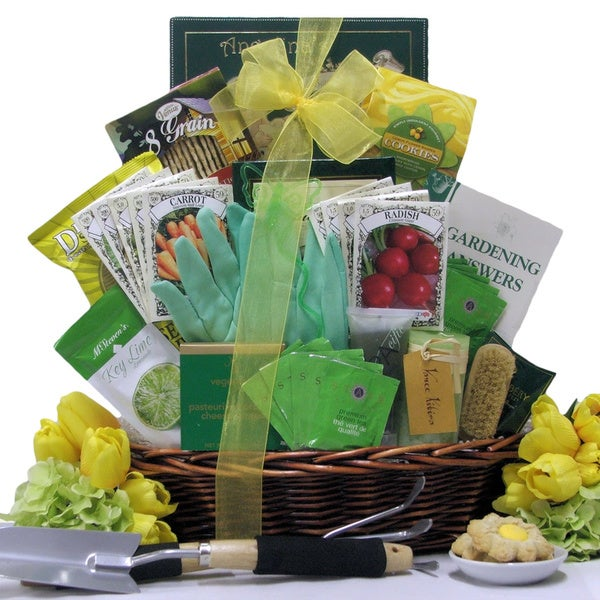 A Gardener's Delight Gift Basket