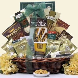 Jumpin' Java ~ Large: Gourmet Coffee Gift Basket