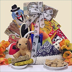 Pamper Your Pooch: Pet Dog Gift Basket