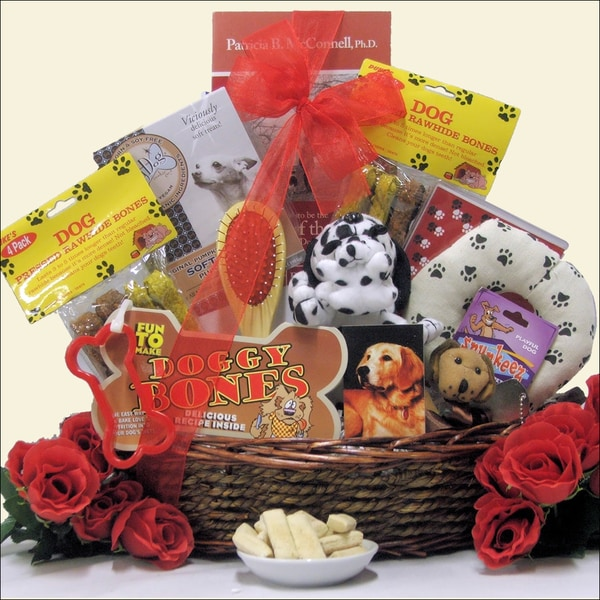 Congrats on Your New Pooch: Pet Dog Gift Basket
