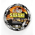 Safari White Tiger Steering Wheel Cover