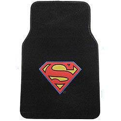 Superman Floor Mats 4-piece Carpet Rug Set