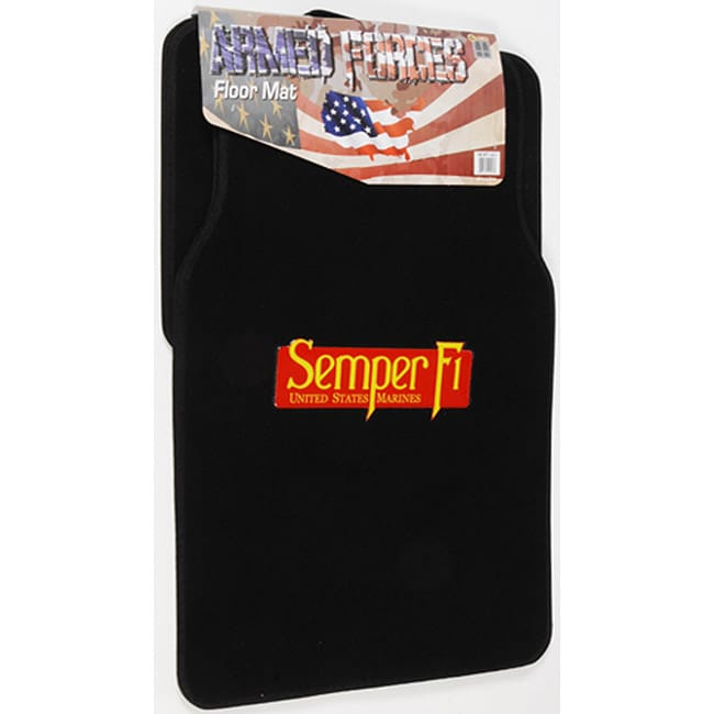 Marine 4-piece Carpet Floor Mats