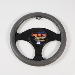 Grey Performance Grip Steering Wheel Cover