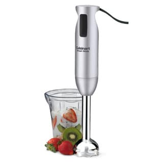 Cuisinart CSB-76BCFR Brushed Chrome Smartstick Hand Blender (Refurbished)