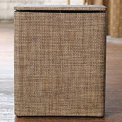 LaMont Home Roxie Brown/ Multi Upright Hamper