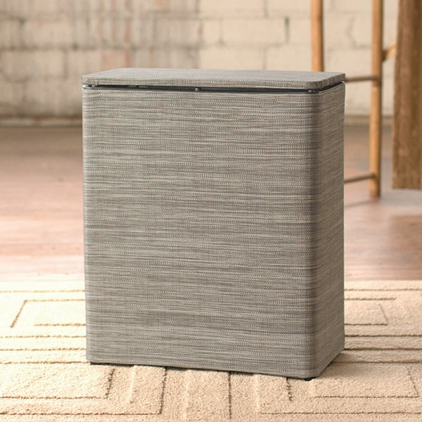 LaMont Home Cambria Sage/ Brown Upright Hamper