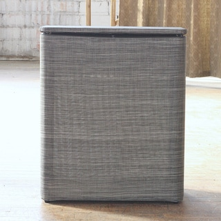 Silver/ Black Cambria Upright Hamper 1530