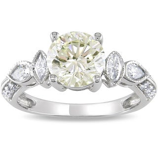 Miadora Signature Collection 14k Gold 2 1/3ct TDW Certified Diamond Ring (H-I, I1-I2)