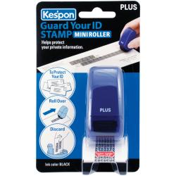 Guard Your ID Mini Roller 1/Pkg-Blue