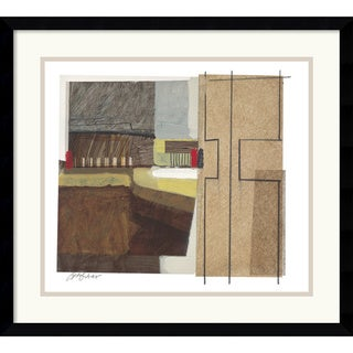 Craig Alan 'Syncopated Rhythm Two' Framed Art Print