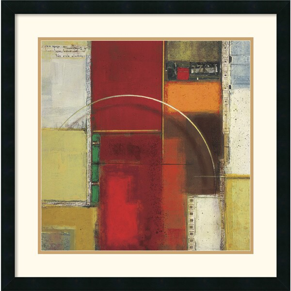 Elya DeChino 'Rosetta One' Framed Art Print