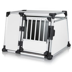 Trixie Scratch-Resistant Metallic Crate (X-Large)