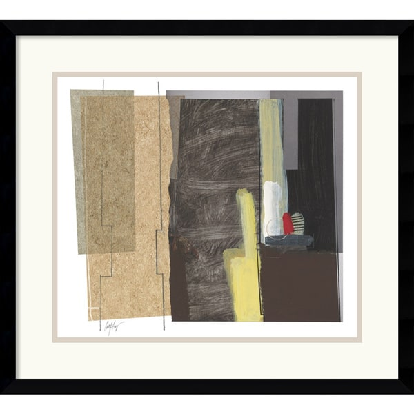 Craig Alan 'Syncopated Rhythm One' Framed Art Print