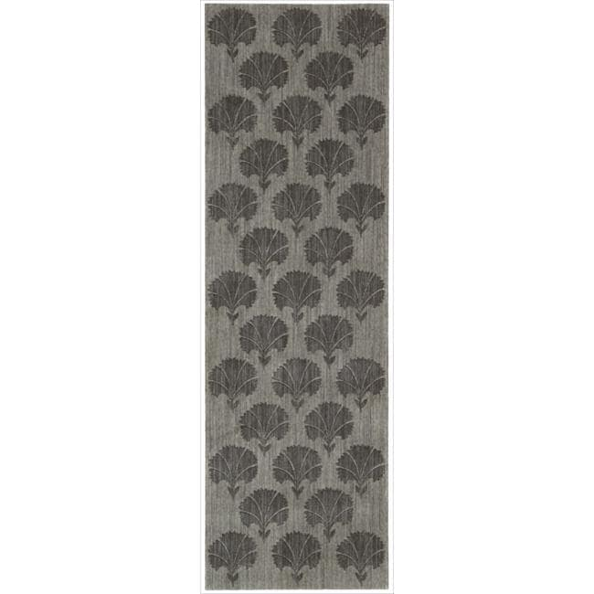 Nourison Home Metropolitan Grey Rug (2'3 x 7'6)