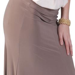 Tressa Designs Women's Elastic Waist Flare Panel Skirt