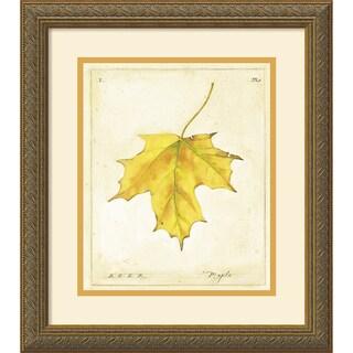 Meg Page 'Maple Leaf' Framed Art Print