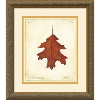 Meg Page 'Oak Leaf' Framed Art Print