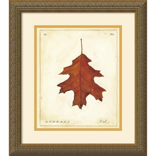 Meg Page 'Oak Leaf' Framed Art Print
