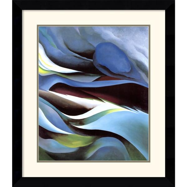 Georgia O'Keeffe 'From the Lake No. 1' Framed Art Print