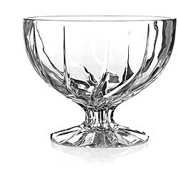 Crystal Pedastal Bowl