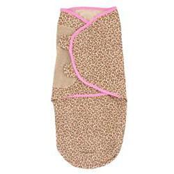 Summer Infant Leopard Large Cotton Knit SwaddleMe Blanket