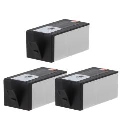 Hewlett Packard 920XL Remanufacture Black Ink Cartridge (Pack of 3) (Refurbished)