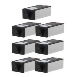 Hewlett Packard 920XL Black Ink Cartridges (Pack of 7) ( Remanufactured)