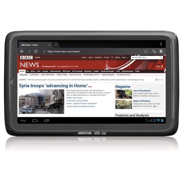"Arnova 10b G3 8 GB Tablet - 10.1"" - Wireless LAN - ARM Cortex A8 Sing"
