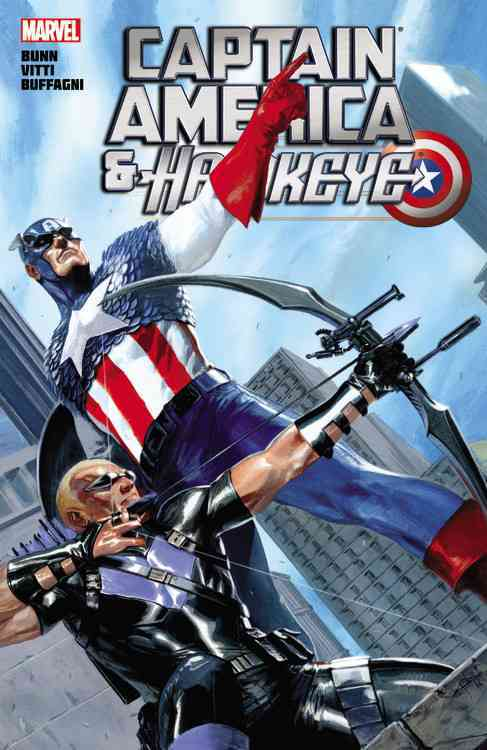 Captain America: Captain America and Hawkeye (Paperback)