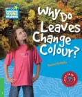 Why Do Leaves Change Colour? Level 3 Factbook (Paperback)