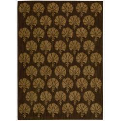 Nourison Calvin Klein Home Metropolitan Brown Rug (2'6 x 4')