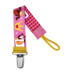 Ulubulu Personalized Pacifier Clip in Princess