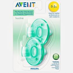 Philips Avent Green Soothie Pacifier (Pack of 2)