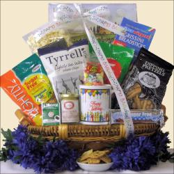 Sugar Free Birthday Celebration Gourmet Gift Basket