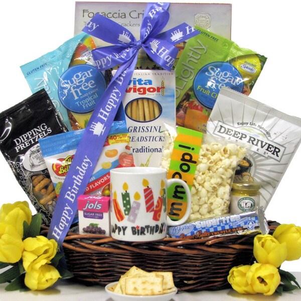 Great Arrivals Sugar Free Birthday Celebration Gourmet Gift Basket