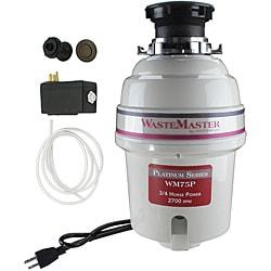 WasteMaster 3/4-HP Garbage Disposal with Bronze Air Switch Kit