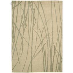 Nourison Home Woven Texture Beige Rug (7'9 x 10'10)