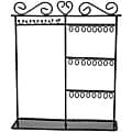 Metal Jewelry Display Shelf-Black