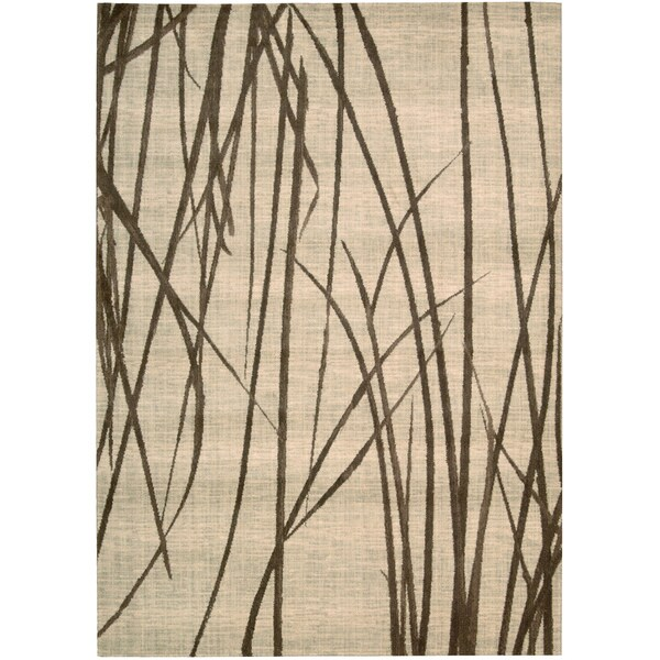 Nourison Home Woven Textures Natural Rug (7'9 x 10'10)