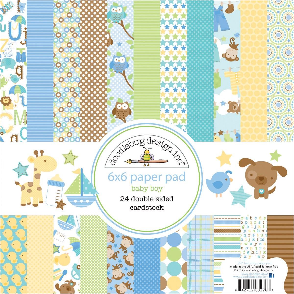 Doodlebug Snips & Snails Paper Pad